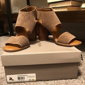 Franco Sarto Delores Block Heel Sandals